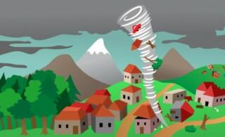 Tornado hits village