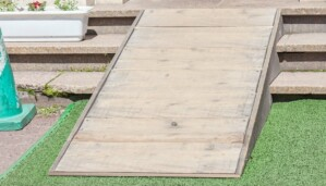 residential wood ramp