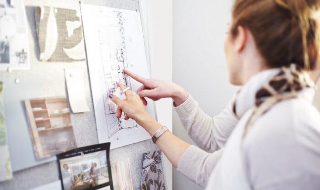 interior designers discuss residential home plans