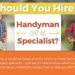 Handyman or Specialist?