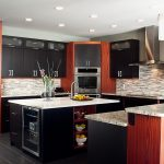 black kitchen cabinets - makeover