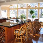 Bamboo bar chairs