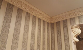 Old fashioned crown molding