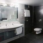 Bathroom with bidet toilet