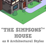 the simpsons home