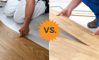 vinyl flooring or laminate