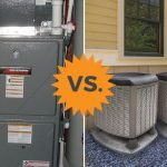 comparing furnaces to heat pumps