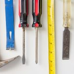 Various tools used for home improvement projects