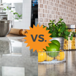 marble counters vs granite counters