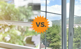 Aluminum vs. Vinyl Window Frames