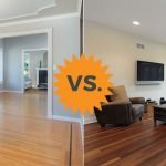 comparing laminate and hardwood flooring