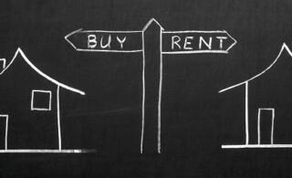 Buy or rent illustration