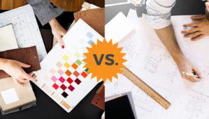 architect vs interior designer