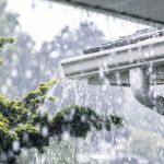 House gutter flooding