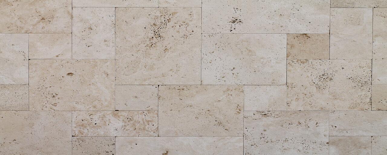 travertine shower floor tile