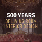 500 years of evolution of living room interior design
