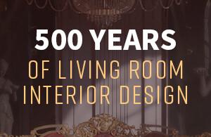 500 years of evolution of living room interior design